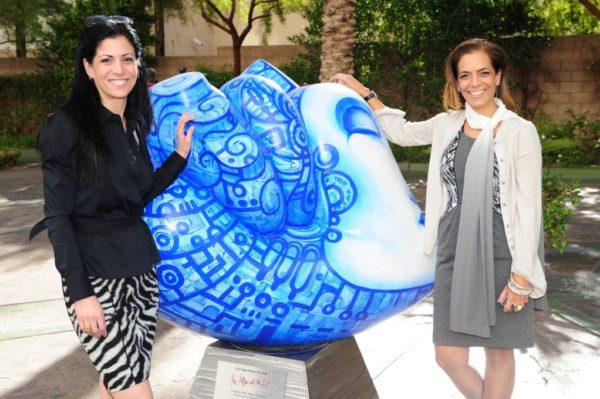 Pitch Engine - El Cortez - Hearts of Las Vegas Dorit Schwartz Sculptor
