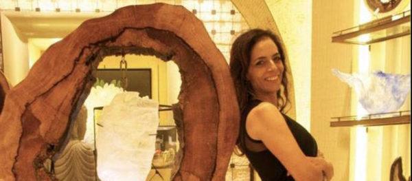 Dorit Schwartz light within collection-wynn encore home store Goddess blog