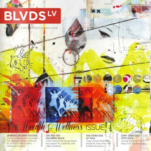 BLVD LV Magazine Jan 2015 Featuring The Work of Sculptor Dorit Schwartz