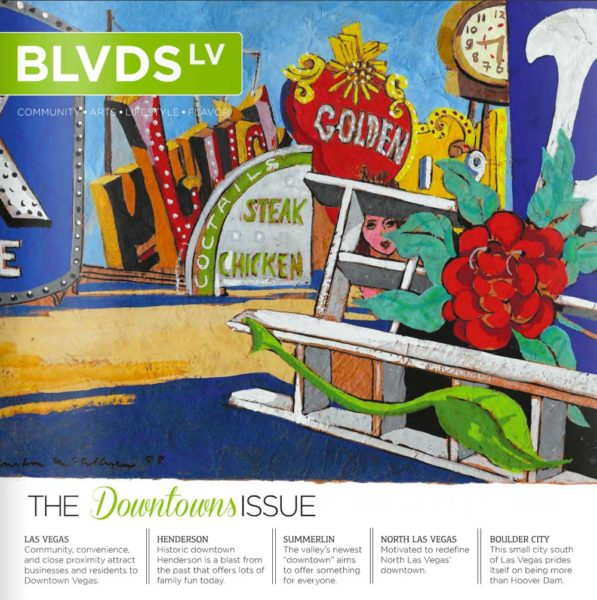 BLVDS LV April 2015 Issue - Downtown Summerlin - Everything is Waiting for You featuring Dorit Schwartz Sculptor