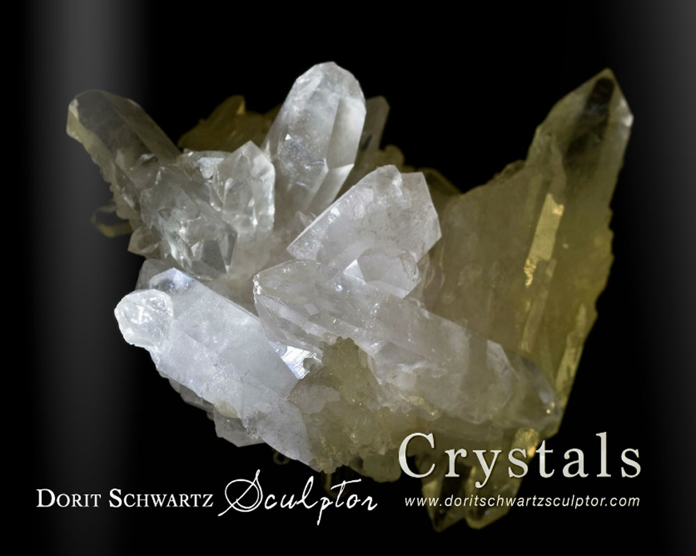 The Crystals Properties Book by Dorit Schwartz Sculptor