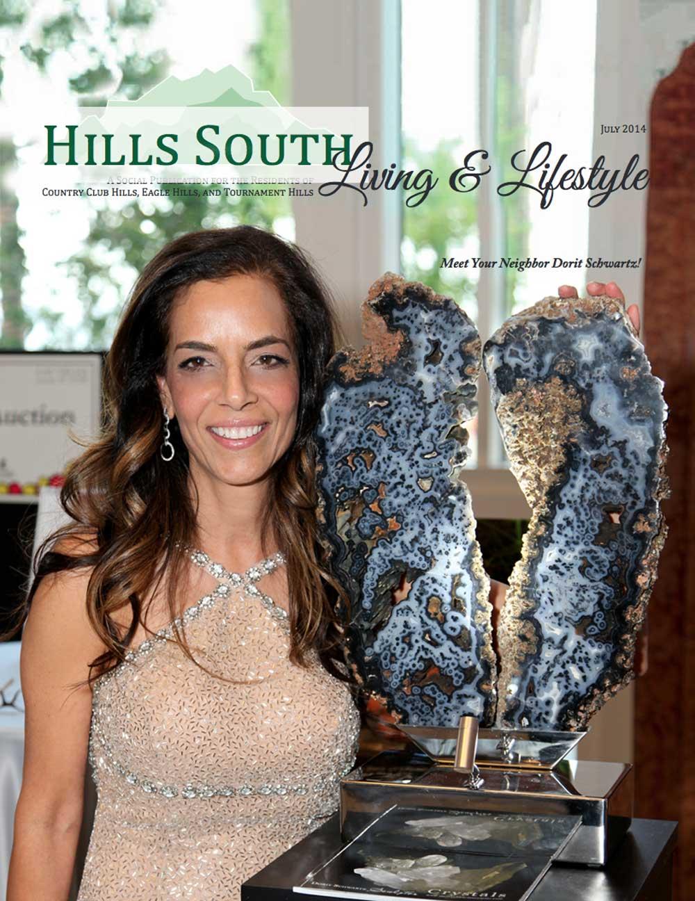 Hills South Magazine Dorit Schwartz