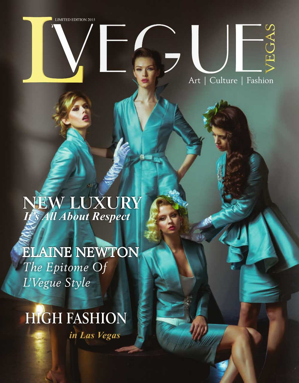 L'Vegue Magazine July 2015 - The Spirituality of Art featuring Dorit Schwartz