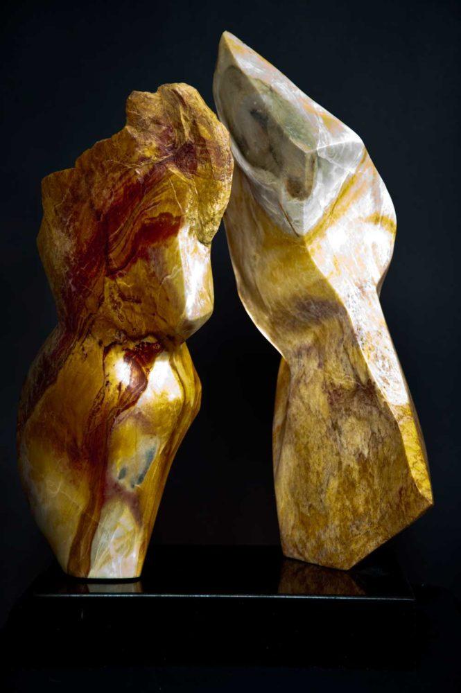 Unity Marble Sculpture Dorit Schwartz