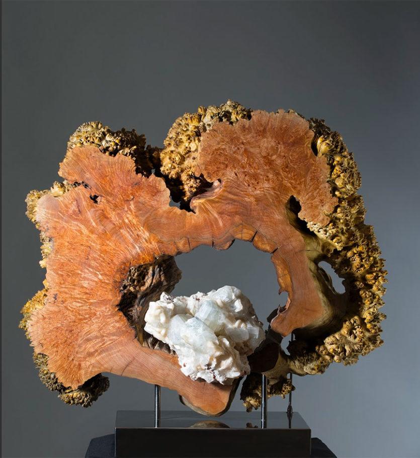 Venus de Milo Crystal Wood Sculpture Dorit Schwartz