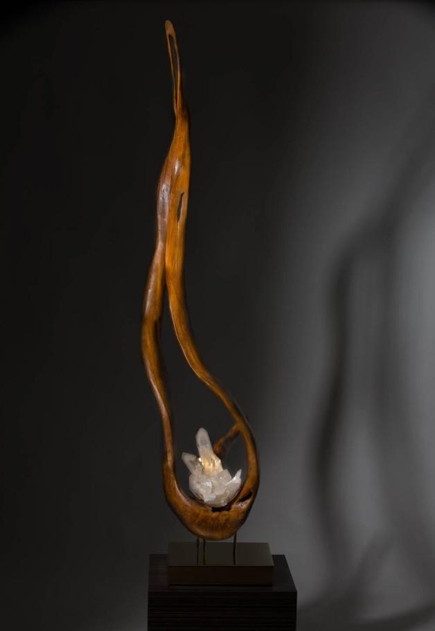 The Flame - Dorit Schwartz Sculptor