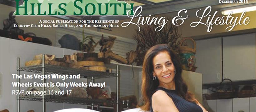 Hills South magazine with Dorit Schwartz