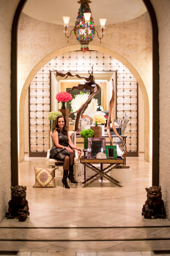 Dorit at the Home Store at the Wynn Encore | Dorit Schwartz Sculptor