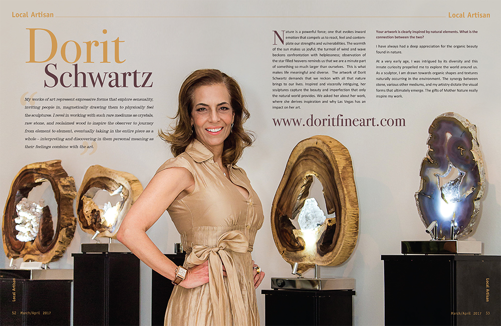 Dorit Schwartz in Zipcode Magazine