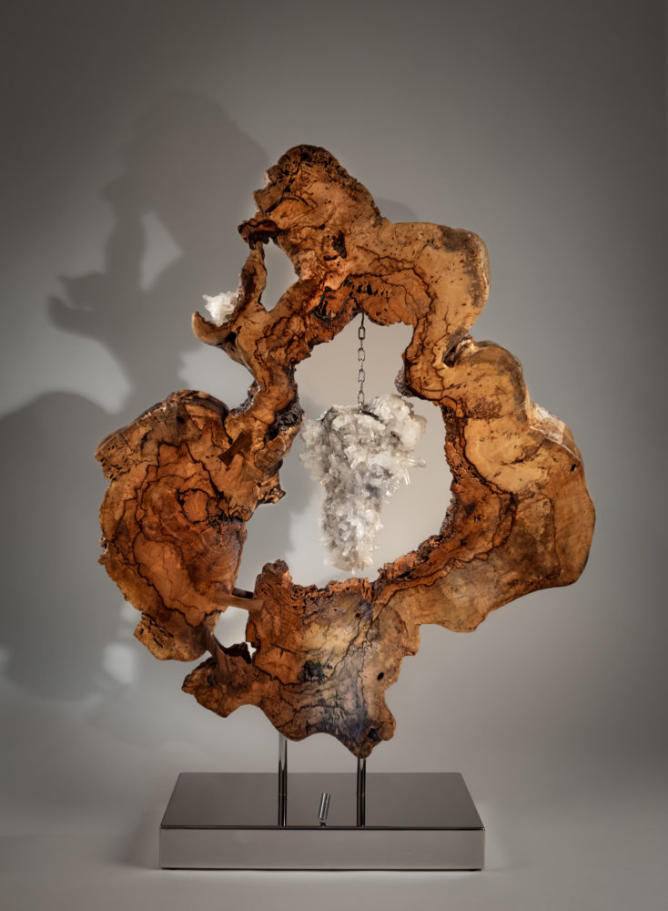 Divine Creation III by sculptor Dorit Schwartz (60x44x13 inches)