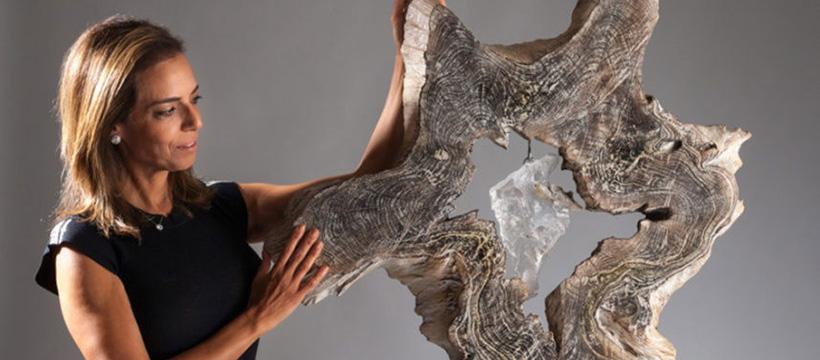 Illumination of the Soul with-the-artist-Crystal-Wood-Sculpture Dorit Schwartz blog