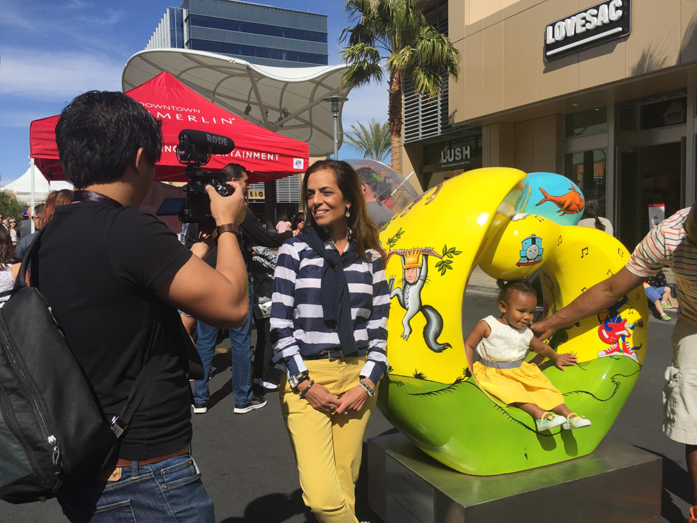 Downtown Summerlin unveiling Celebration of Life collection