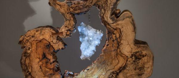 Divine Creation Crystal Wood Sculpture Dorit Schwartz blog