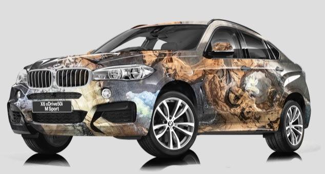 BMW artistic paintwork