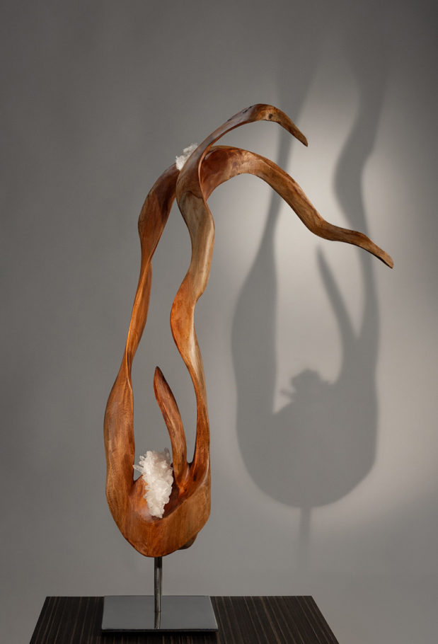 Blooming of the Spirit by sculptor Dorit Schwartz