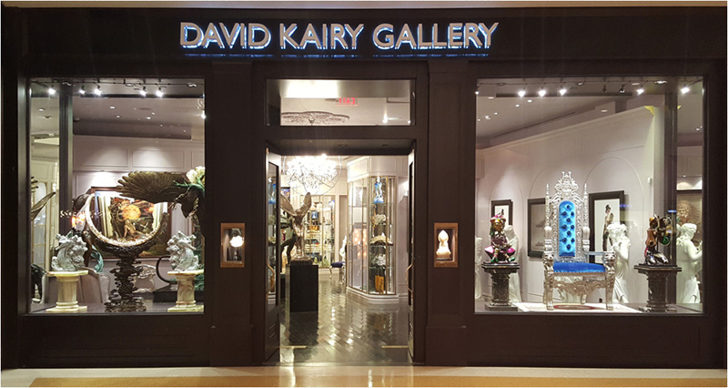 Sculptor Dorit Schwartz at David Kairy Gallery The Shops at Crystals Las Vegas