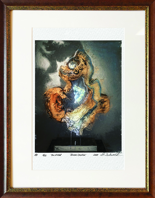 Divine Creation One of A Kind Collection Hand Enhanced Lithographs by Fine Artist Dorit Schwartz Numbered Limited Edition Japanese Series