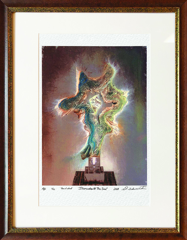 Illumination of The Soul One of A Kind Collection Hand Enhanced Lithographs by Fine Artist Dorit Schwartz Numbered Limited Edition Japanese Series