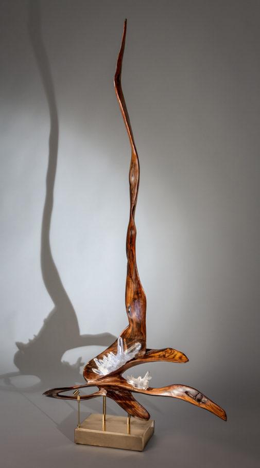 Namaste by sculptor Dorit Schwartz