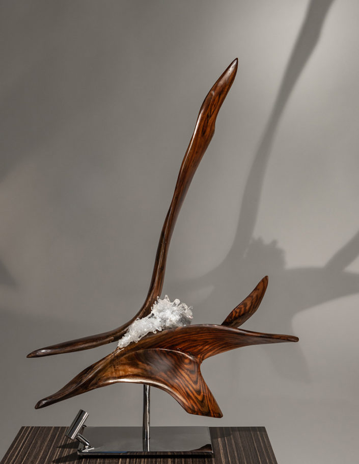 Ray of Love by sculptor Dorit Schwartz