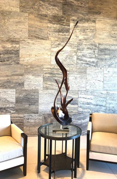 Sculptor Dorit Schwartz - Vine of the Soul II