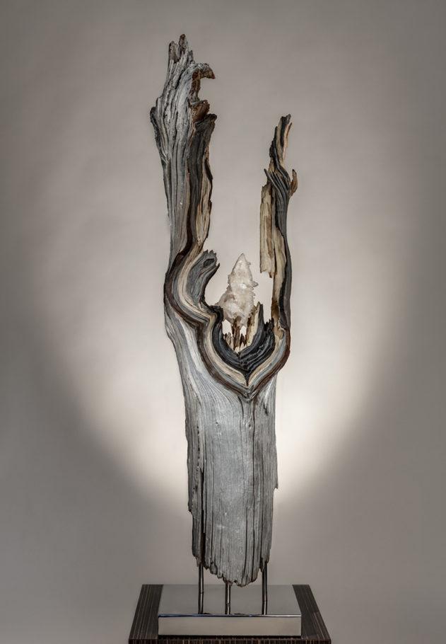 Silver Sparrow by sculptor Dorit Schwartz
