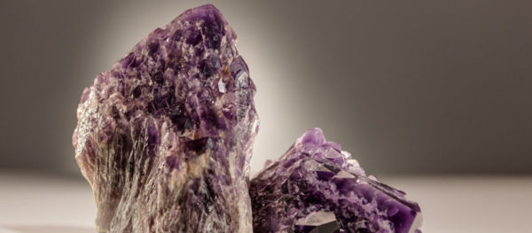 purple crystal sculptor Dorit Schwartz blog
