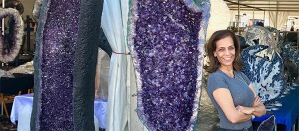 Dorit Schwartz Sculptor blog purple