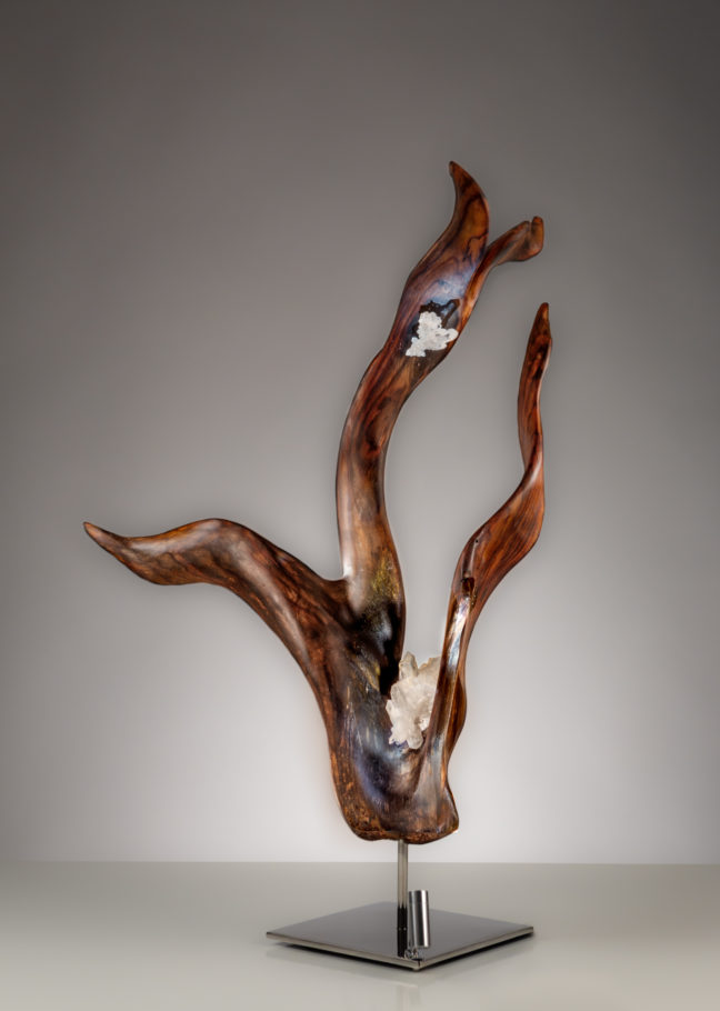 Ember of Hope by sculptor Dorit Schwartz (29x19 inches)
