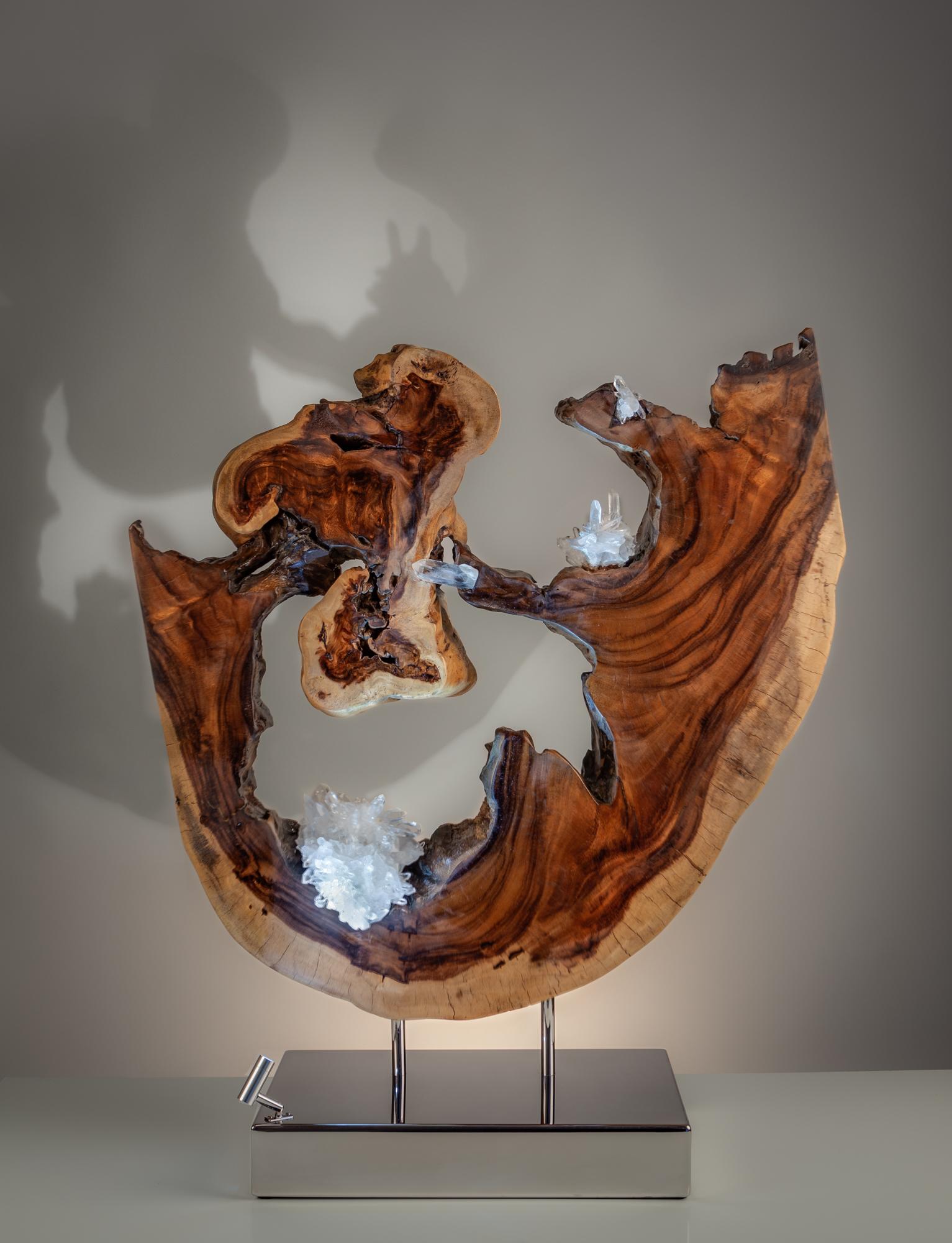 Facets of Love by sculptor Dorit Schwartz (36x31x12 inches)