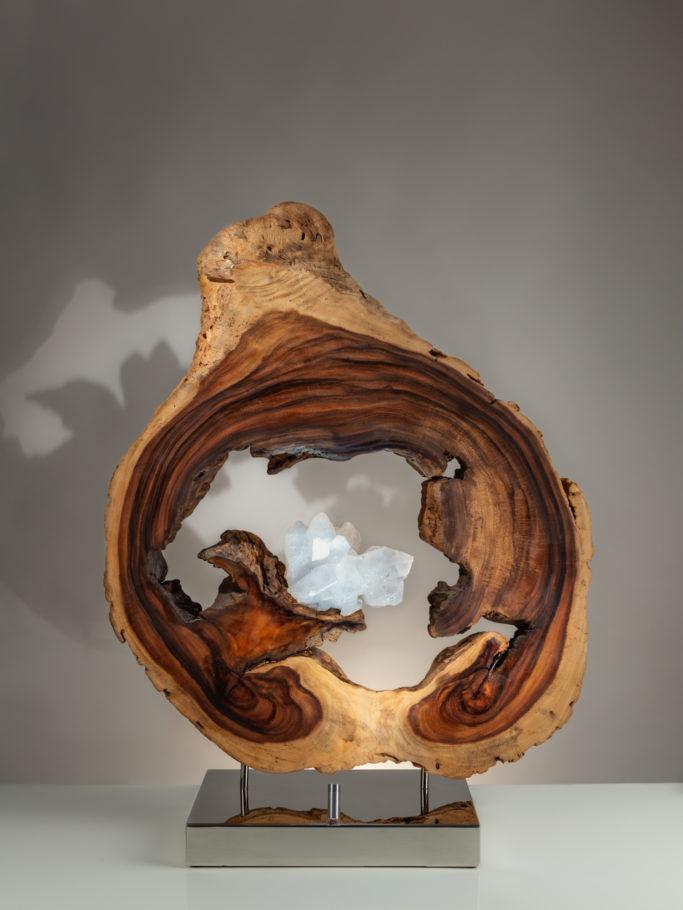 Illumination by sculptor Dorit Schwartz (36x22.5x9 inches)
