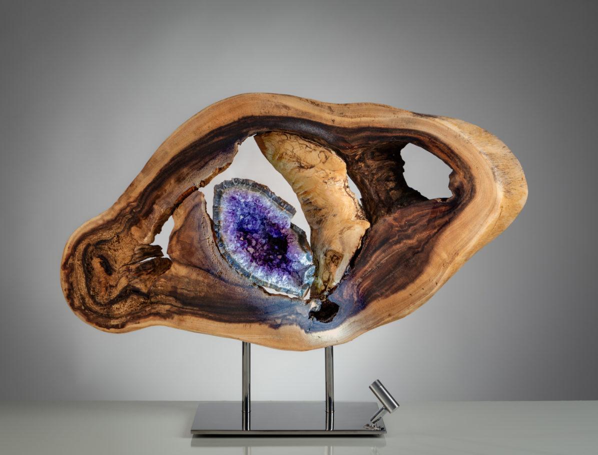 Inner Balance by sculptor Dorit Schwartz (18x28x7 inches)