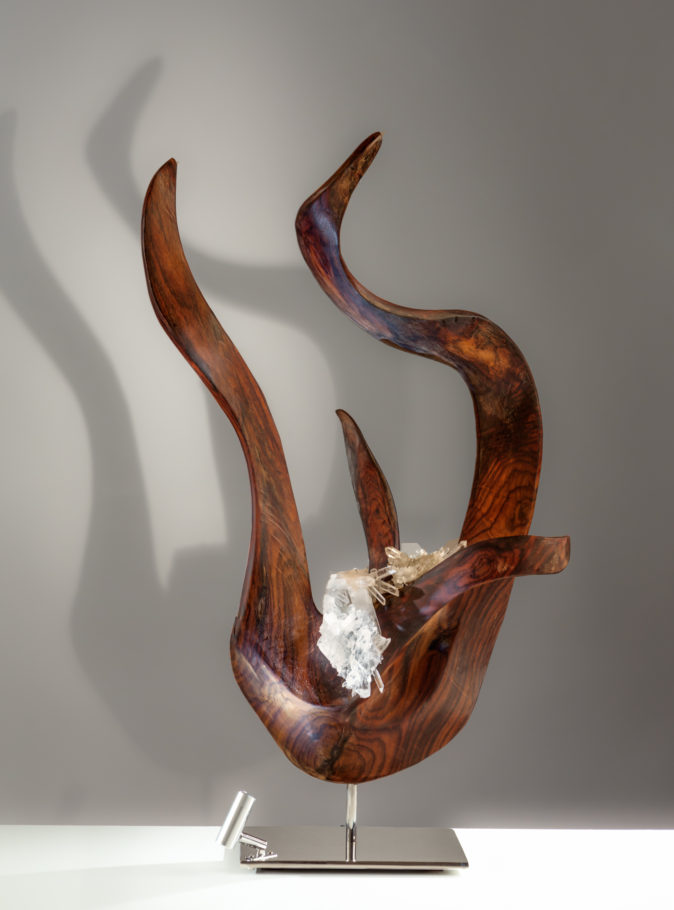Touch of Divinity by sculptor Dorit Schwartz (25x13x15 inches)