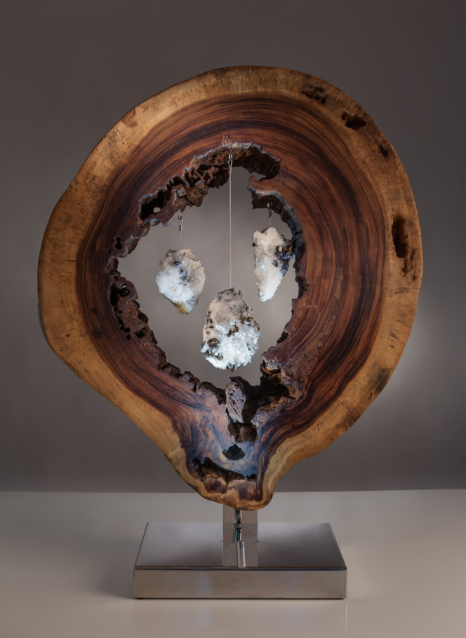 Eye of Creation by sculptor Dorit Schwartz (42x31x11 in)