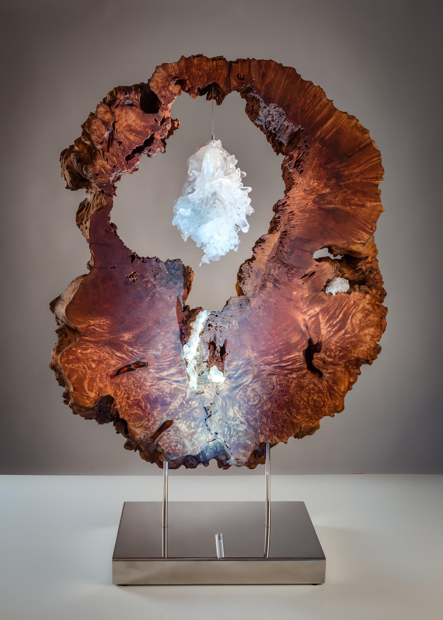 Lake of Luminance by sculptor Dorit Schwartz (48.5x34x13 in)