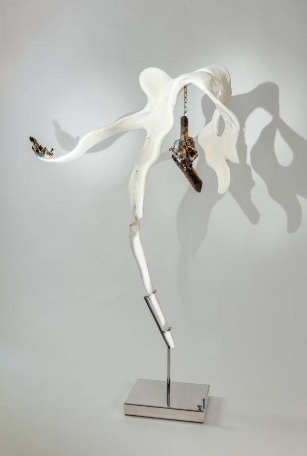 Poise I by sculptor Dorit Schwartz (69x42x16 in)