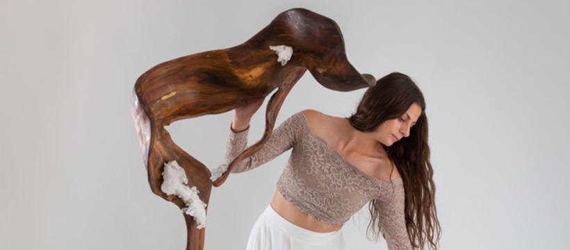 Sheltered Love with Dancer-by-sculptor Dorit Schwartz newsletter