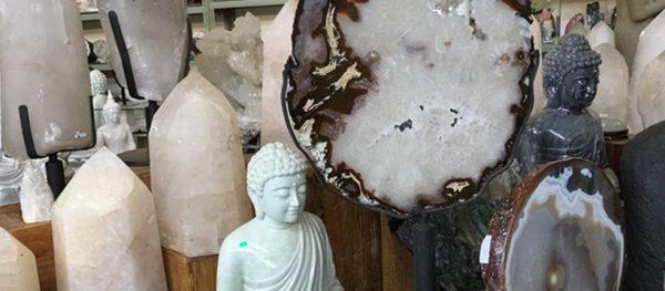 Dorit Schwartz sculptor crystals shop
