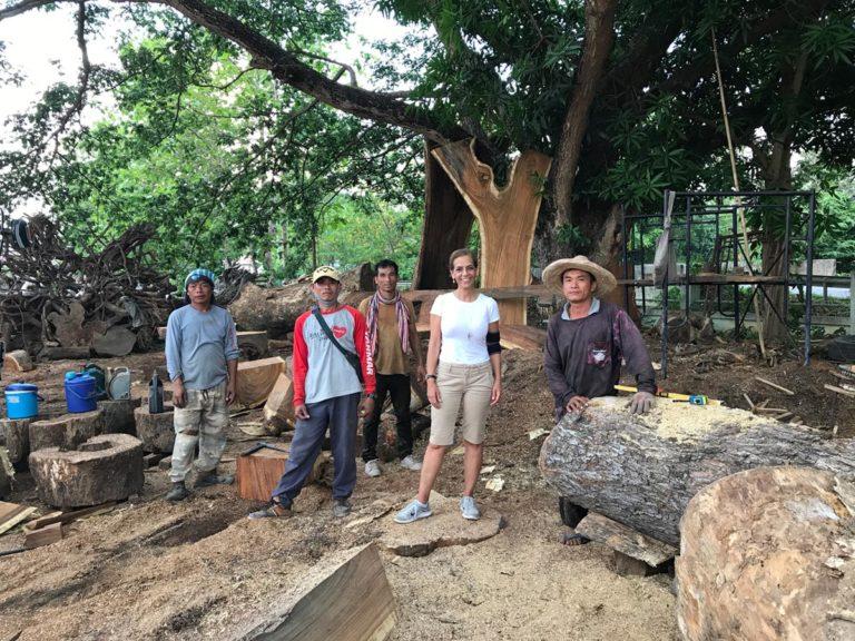 Dorit sourcing wood