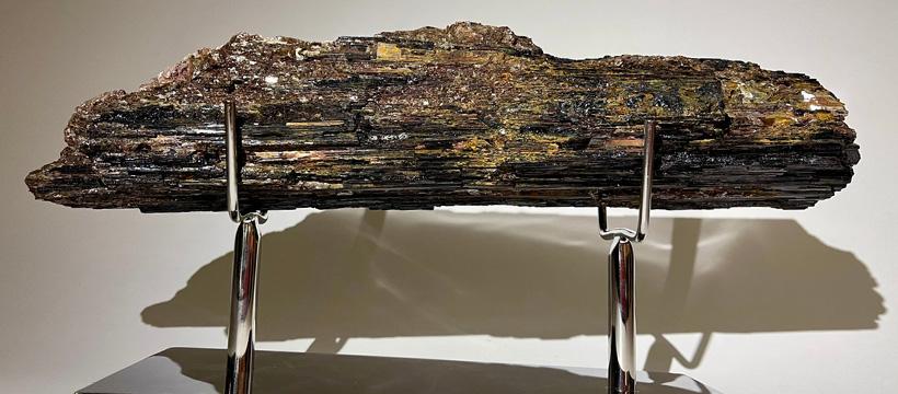 Black Tourmaline Dorit Schwartz sculptor