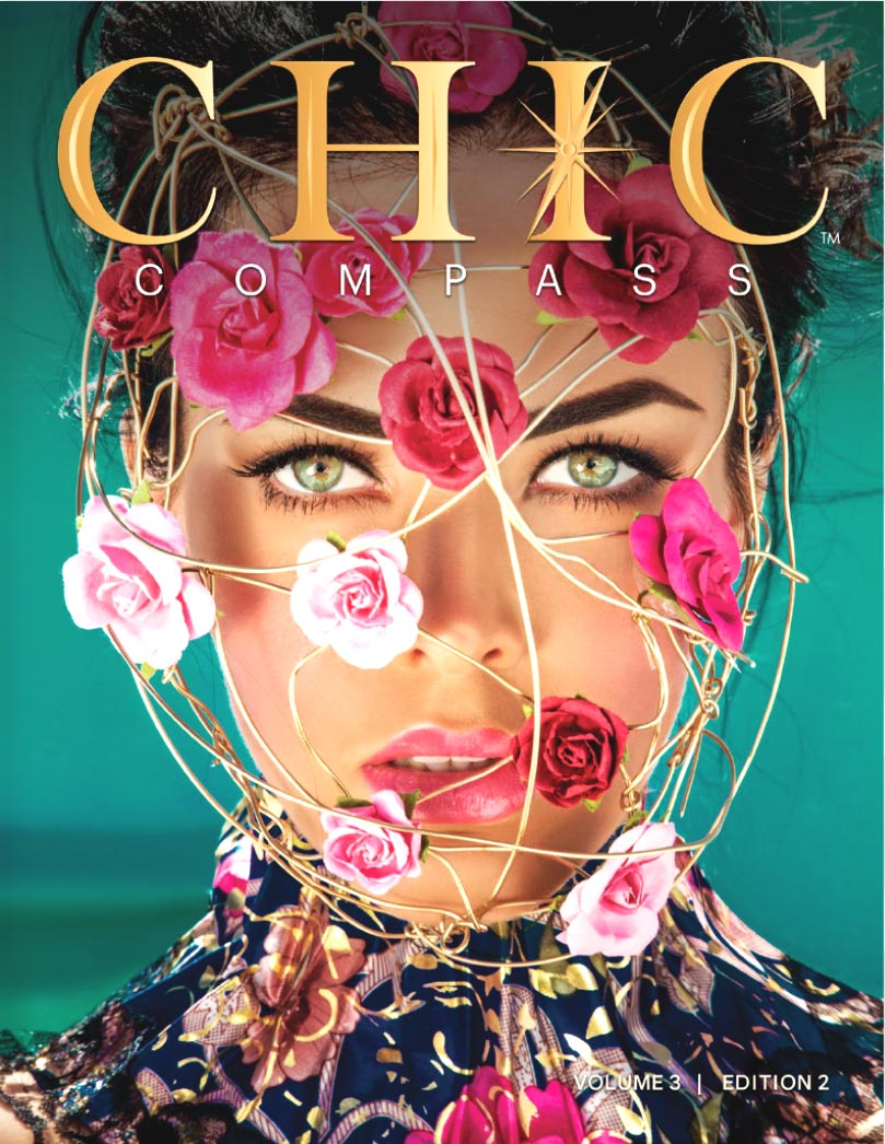 Chic Compass Magazine cover featuring Dorit Schwartz, Sculptor