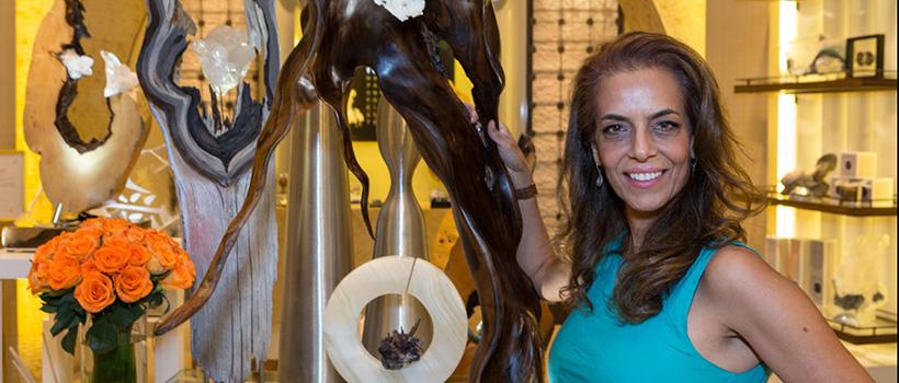 Dorit Schwartz Sculptor at the Wynn Home Store at the Encore Esplanade - June 2016