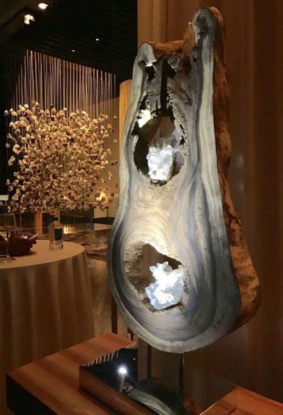 Dorit Schwartz Light Within Collection at the Delano Resort - Nature Spine
