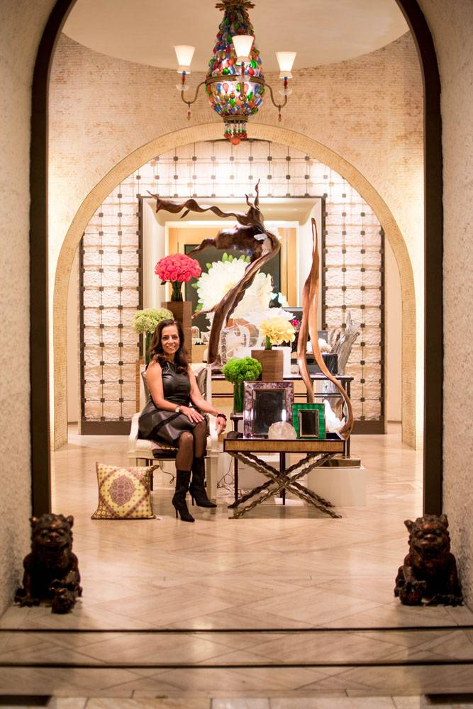 Dorit Schwartz at the Wynn Home Store at the Encore Esplanade - November 2015