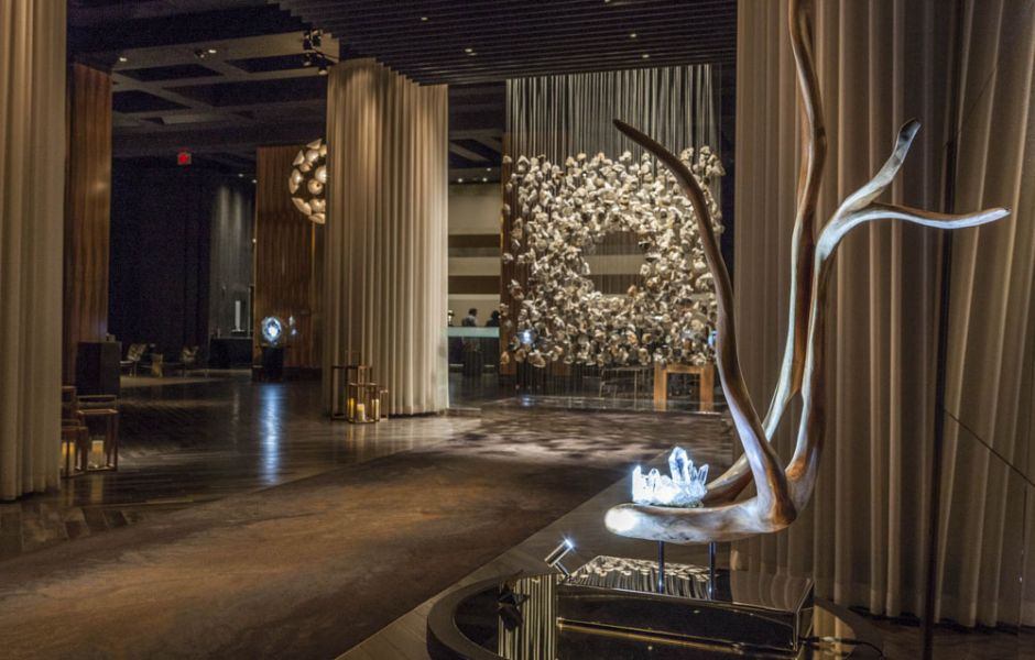 Dorit Schwartz Light Within Collection at the Delano Resort - Lotus