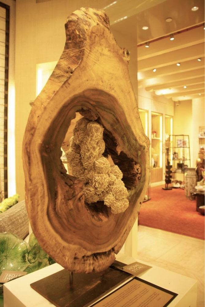 Dorit Schwartz Sculptor at the Wynn Home Store at the Encore Esplanade - November 2014